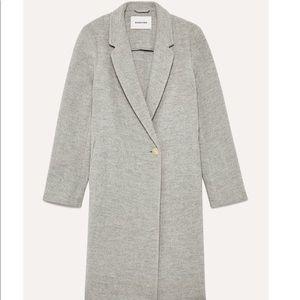 Babaton Wool Stedman Coat in Heather Comet